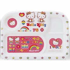 與日本兒童餐具彩虹凱蒂角午餐 TRA MC-40-RKT