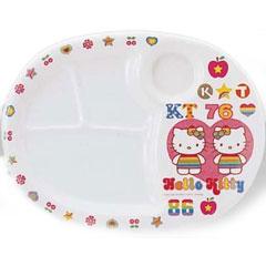 日本兒童餐具彩虹凱蒂午飯板大 MC-31-RKT