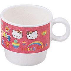 一個日本兒童餐具彩虹 Kitty 杯 200 毫升 MC-20-RKT (非折扣服務,沒有雜記產品取消退款)