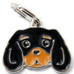 マイファミリー 犬種別 迷子札 キャバリア・キング・チャールズ・スパニエル ブラック&タン MF22TAN[リビングプラザたく屋]
