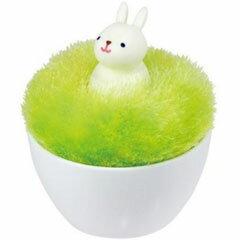 マーナ 掃除用ブラシ アニマル ポンポン クリーナー ウサギ S375B[fs01gm]【RC…