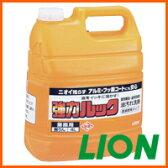 ライオン 大容量  油汚れ洗剤 強力ルック4L[fs01gm]【RCP】【HLS_DU】