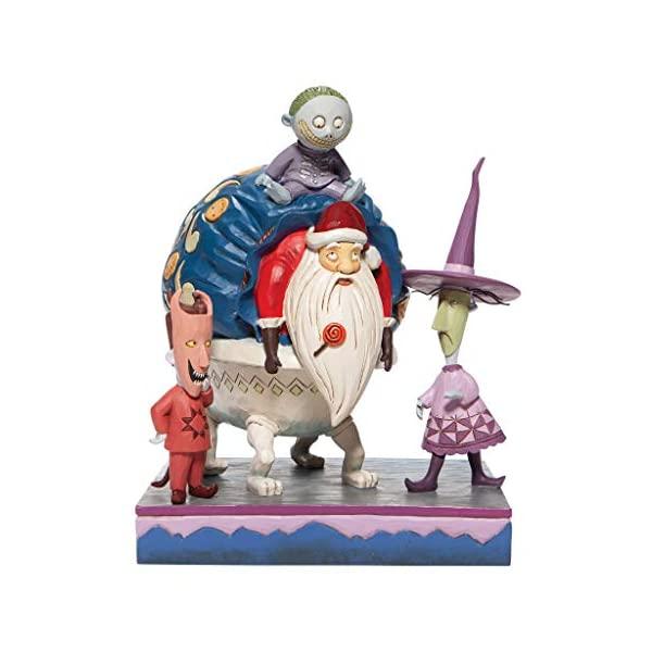 產品詳細資料,日本Yahoo代標 日本代購 日本批發-ibuy99 興趣、愛好 收藏 收藏娃娃 エネスコ ディズニー トラディションズ ジムショア ナイトメアー クリスマス ロック ショック バ…