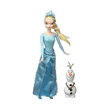 アナと雪の女王2 エルサ オラフ おもちゃ 人形 ドール フィギュア ディズニー DisneyR Frozen Princess Elsa and Olaf Doll Gift Set