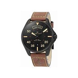 ハミルトン 腕時計 ウォッチ Hamilton H64605531 カーキ パイロット オートマチック 自動巻き メンズ 男性用 Hamilton Khaki Pilot Automatic Black Dial Men's Watch H64605531