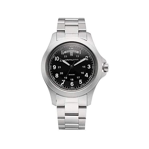 腕時計, メンズ腕時計  Hamilton H64451133 Hamilton Mens Analogue Quartz Watch with Stainless Steel Strap H64451133