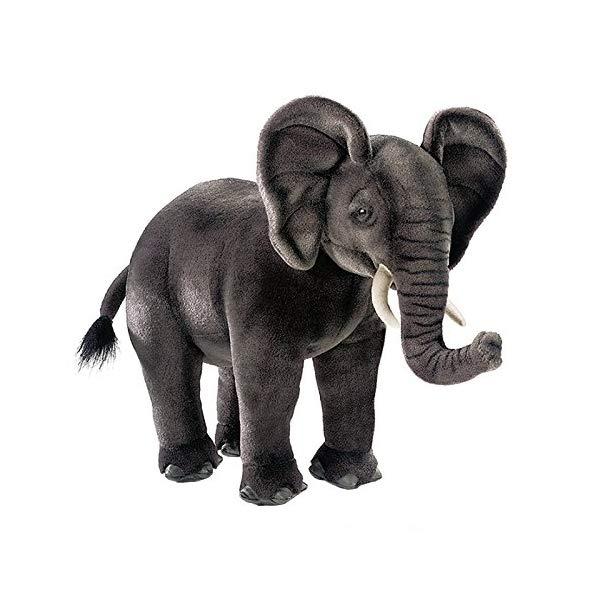 """ハンサ ゾウ 象 17インチ ぬいぐるみ Hansa African Elephant 17"""" Plush"""