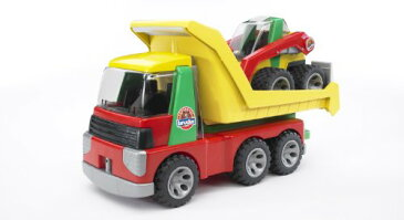 Bruder Toys ブルーダー トランスポーター Transporter With Skid Steer Loader