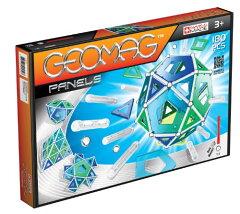 10000円以上で送料無料Geomag ジオマグ 180ピース Construction Set, Assorted Panels