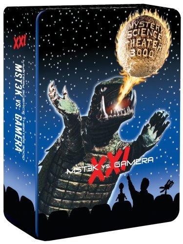 MST3K Vs. Gamera ガメラ ミステリーサイエンスシアター3000 Mystery Science Theater 3000, Vol. XXI [Deluxe Edition] DVD 5枚セット 北米版:i-selection