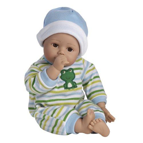 Adora アドラ ベビードール 赤ちゃん 人形 Playtime Baby Doll 13インチ Baby Boy Light Brown Ski...
