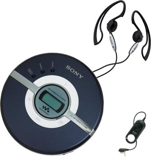 Sony ソニー CDウォークマン ブルー D-EJ100 Walkman Portable CD Player (Blue):i-selection