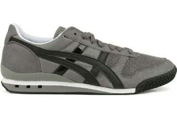 Onitsuka Tiger オニツカタイガー スニーカー メンズ アルティメイト81 Men's Ultimate 81 HN201.7390 Lace-Up Fashion Sneaker,Charcoal/Black