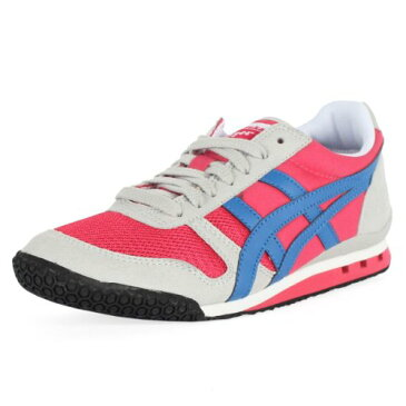 Onitsuka Tiger オニツカタイガー スニーカーレディース アルティメイト81 Women's Ultimate 81 Lace-Up Fashion Sneaker,Raspberry/Electric Blue