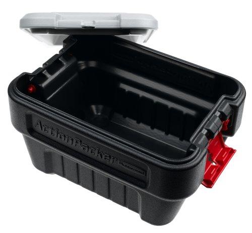 ラバーメイド 収納ボックス 8ガロン Rubbermaid 1170 ActionPacker Storage Box, 8-Gallon