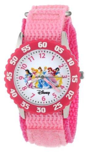 "Disney ディズニー アナと雪の女王 キッズ腕時計 Girls' W000042 Princess ""Time Teacher"" Watch"