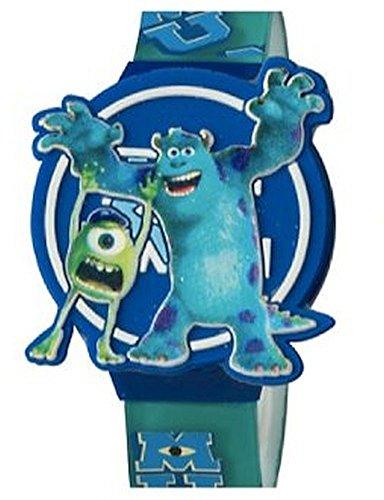 ディズニー 腕時計 キッズ 時計 子供用 モンスターズインク ユニバーシティー マイク サリー Disney Monsters University Kids LCD Watch with Molded Flip Top