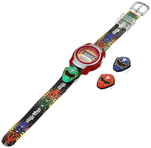 ディズニー 腕時計 キッズ 時計 子供用 パワーレンジャー Disney Kids' PRKD323 Power Rangers Digital Display Quartz Two Tone Watch