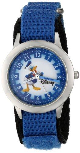 """ディズニー 腕時計 キッズ 時計 子供用 ドナルドダック Disney Kids' W000149 """"Donald Duck"""" Stainless Steel Watch"""