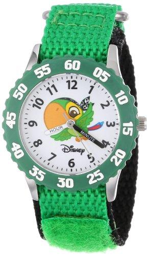 ディズニー 腕時計 キッズ 時計 子供用 ジェイクとネバーランドのかいぞくたち スカリー Disney Kids' W000382 Jake and the Neverland Pirates Stainless Steel Time Teacher Watch