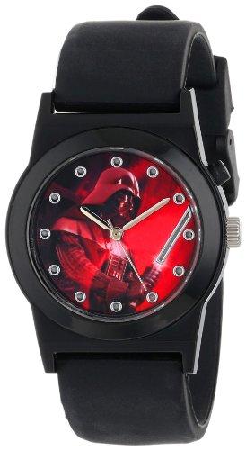 ディズニー 腕時計 キッズ 時計 子供用 スターウォーズ ダースベイダー Star Wars Kids' DAR3507 Analog Display Analog Quartz Black Watch