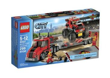 レゴ シティ モンスタートラック トランスポーター LEGO City 60027 Monster Truck Transporter
