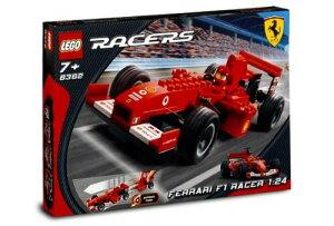 10000円以上で送料無料レゴ レーサー フェラーリ F1 LEGO Racers 8362 Ferrari F1 Racer 1:24