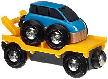BRIO ブリオ 木製 レール 車 トランスポーター 33577 Car Transporter - Blue
