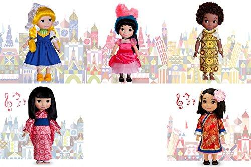 ディズニー ドール フィギュア 人形 イッツ・ア・スモールワールド ケニア オランダ 中国 日本 フランス Disney It