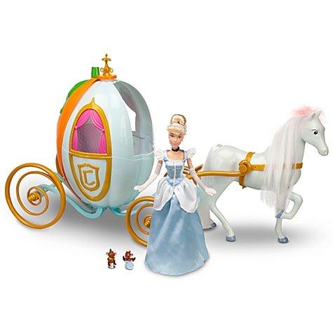 ディズニープリンセス ドール フィギュア 人形 シンデレラ 馬車 Disney Princess Cinderella Doll and Carriage Playset:i-selection