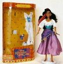 """ディズニー ドール フィギュア 人形 ノートルダムの鐘 エスメラルダ Disney Hunchback of Notre Dame ESMERALDA 11.5"""" Fully Poseable Fashion Doll (1995 Mattel)"""