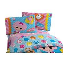 ララループシー ソフトドール 人形 ベッドカバーセット Lalaloopsy Doll Twin Sheet Set with 1 Flat Sheet, 1 Fitted Sheet and 1 Pillowcase