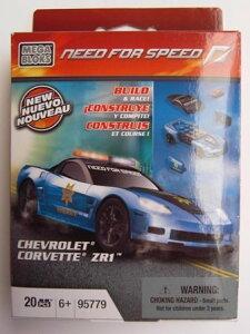 メガブロック 95779 ニードフォースピード シボレーコルベット Mega Bloks Need for Speed Chev...