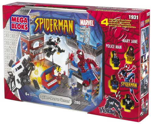 メガブロック 1931 スパイダーマン Spiderman vs. Venom Collectors Tin:i-selection