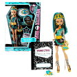 "モンスターハイ 人形 ドール フィギュア ネフェラ・デ・ナイル 2011モデル Mattel Year 2011 Monster High Diary Series 11 Inch Doll - Nefera de Nile ""Daughter of the Mummy"" with Purse, Pet ""Azura"" the Scarab, Hairbrush, Diary and Doll Stand (W9115)"