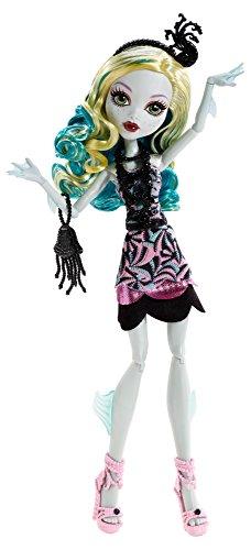 モンスターハイ 人形 ドール フィギュア ラグーナ・ブルー Monster High Frights, Camera, Action! Black Carpet Lagoona Blue Doll画像