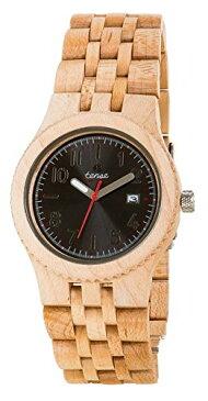 テンス 時計 腕時計 木製 Tense Discovery Yukon Jumbo Round Maple Wood Watch J5200M DF