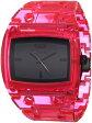 """ベスタル 時計 レディース 腕時計 Vestal Women's DESP028 """"Destroyer"""" Plastic Translucent Neon Pink Watch"""