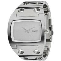 VestalDestroyerPlasticMidFrequencyCollectionWatches-Silver/Silver/Silver/Polish/OneSizeFitsAll