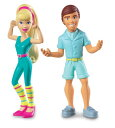 ディズニー ドール 人形 フィギュア トイストーリー3 ケン バービー Disney / Pixar Toy Story 3 Exclusive Action Links Mini Figure Buddy 2Pack Ken Great Shape Barbie
