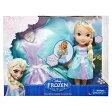 ディズニー プリンセス ドール 人形 フィギュア アナと雪の女王 エルサ ドレスセット Disney Frozen Toddler Elsa Doll & Toddler Dress Gift Set