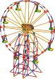 ケネックス ブロック おもちゃ 遊園地シリーズ 観覧車 K'NEX Collect Build Amusement Park Series #2 Ferris Wheel