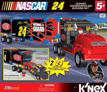 ケネックス ブロック おもちゃ ナスカー デュポン社 トランスポーターリグ ビルディングセット K'NEX NASCAR Building Set: #24 DuPont Transporter Rig