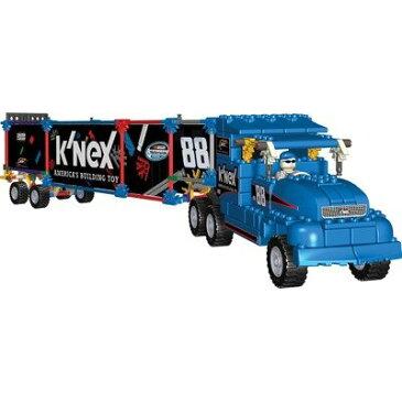 ケネックス ブロック おもちゃ ナスカー トランスポーターリグ ビルディングセット K'Nex Transporter Rig Building Set