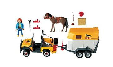プレイモービル 3249 馬の輸送用ジープ Playmobil 3249 Equine Transporter