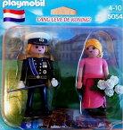 """プレイモービル 5054 ウィリアム王とオランダの王妃マキシマ Playmobil 5054 - King William & Queen Maxima of Netherlands - """"Lang leve de Koning"""""""