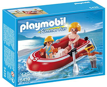 プレイモービル 5439 ボート遊び PLAYMOBIL Swimmers with Raft Playset