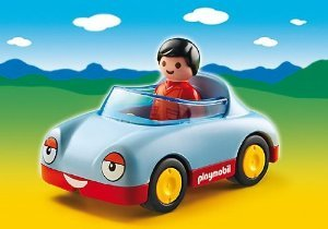 プレイモービル 6790 オープンカー Playmobil 6790 Convertible Car with Driver for Ages 1.5 Yrs. And Up