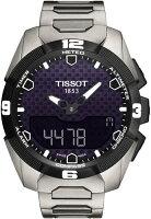TissotT-TouchExpertSolarBlackDialStainlessSteelMensWatchT0914204405100
