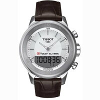 TissotT0834201601110T-TouchClassicSpecialEditionMSGQuartzwithBrownLeatherStrap